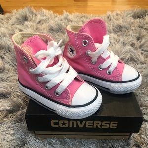 CONVERSE INFANT PINK
